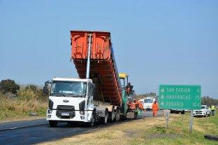 Continúa la reparación de la Ruta Nacional 11