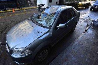 Fuerte temporal de lluvia y viento causó destrozos en Córdoba -  -