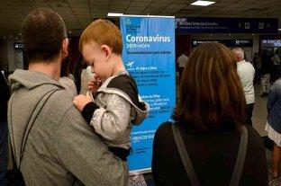 Aplican el protocolo por coronavirus en los vuelos que llegan a Ezeiza desde Roma -  -