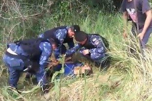 """Video: atraparon al """"degollador"""" de Misiones"""