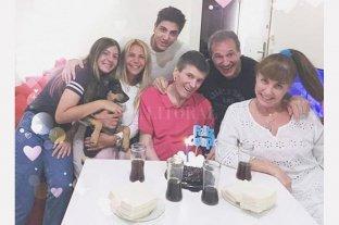 Carlín Calvo celebró en familia sus 67 años