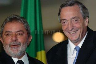 Lula publicó una carta recordando a Néstor Kirchner