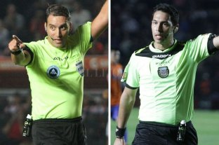 Rapallini y Tello son los árbitros argentinos elegidos para el Mundial 2022 - Fernando Rapallini y Facundo Tello. -