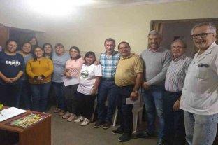 Borla entregó aportes a instituciones de San Justo y Crespo