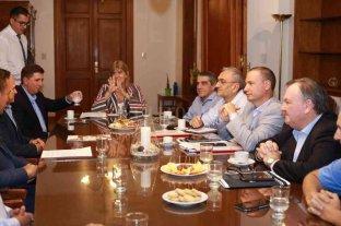 Pirola junto a sus pares, se reunió con autoridades de la Cámara Argentina de la Construcción