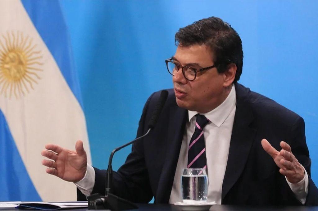 Claudio Moroni, ministro de Trabajo de la Nación Crédito: Gentileza