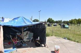 Las usurpaciones se consolidan y los vecinos piden un desalojo inmediato