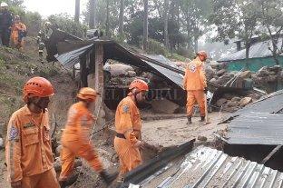 Desbordaron dos ríos en Colombia y hay diez desaparecidos