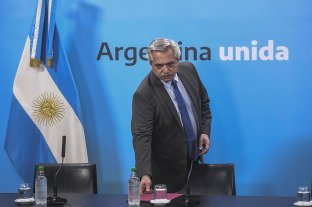 """Alberto Fernández: """"Argentina está en terapia  intensiva, tratando de salir de la enfermedad"""""""