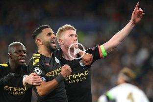 Manchester City dio el golpe ante Real Madrid en el Bernabéu
