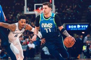Los Spurs caen ante Los Mavericks