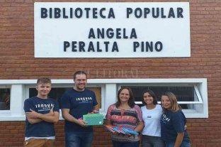 Crean un banco de cuadernos para alumnos de la provincia