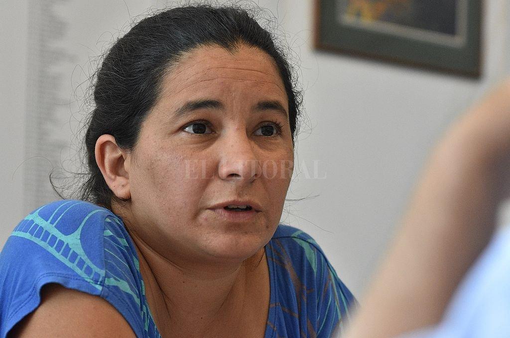 Soledad Artigas destaca la importancia de articular, con otras áreas municipales y otros niveles de decisión, políticas destinadas a la prevención y el abordaje de las violencias. Crédito: Pablo Aguirre / Archivo
