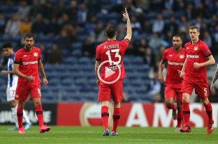 Europa League: Alario marcó en la clasificación de Bayer Leverkusen ante Porto