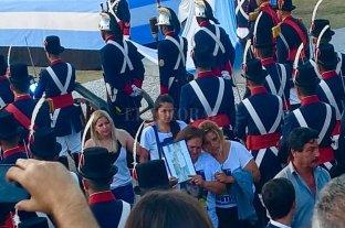 Alberto Fernández dialogó con los padres de Carlos Orellano -  -
