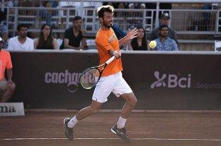 Londero quedó eliminado del ATP de Santiago al perder con el brasileño Seyboth Wild