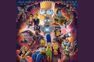 Los Simpson emitirán un episodio especial con los actores de Avengers