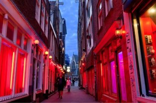 Planean mudar el Barrio Rojo de Ámsterdam