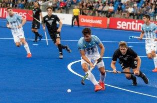Los Leones perdieron 5 a 3 ante Nueva Zelanda