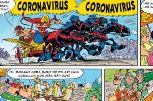 ¿Astérix y Obélix predijeron el coronavirus en 2017?