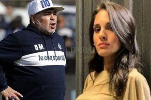Magalí Gil va a la Justicia para saber si es hija de Diego Maradona