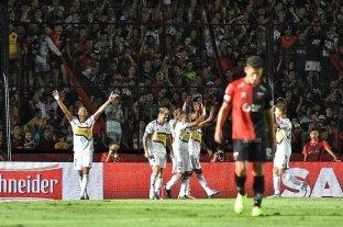 Boca goleó a Colón