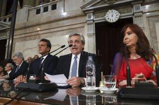 Alberto Fernández anunció medidas para el Poder Judicial