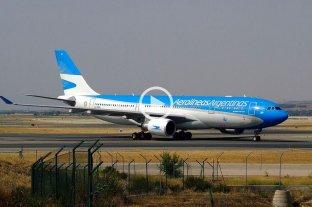 Video: un avión de Aerolíneas tuvo que aterrizar de emergencia en Neuquén