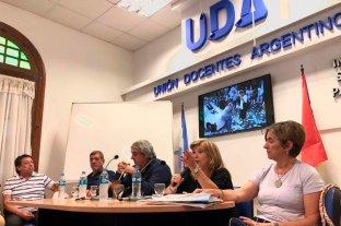 Desde UDA afirman que van a seguir las medidas de fuerza si no se recompone el salario docente