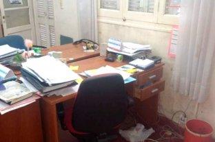Robo y destrozos en el Ministerio de la Producción