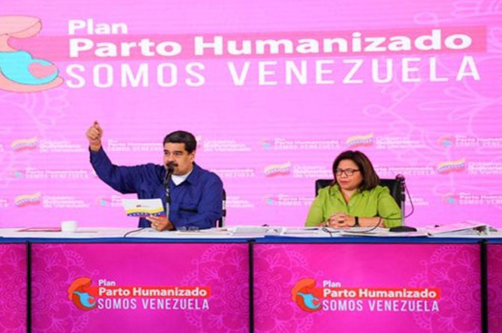 Nicolás Maduro instó a mujeres venezolanas a que tengan más hijos