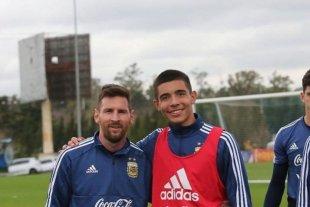 Barcelona interesado en un juvenil de la Selección Argentina