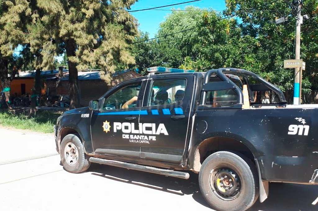 Tras los graves incidentes del lunes personal policial intensificó los patrullajes por el castigado distrito costero. Crédito: Danilo Chiapello