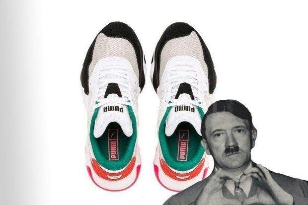 Pack para poner Maldición bar  Polémica por unas zapatillas parecidas a Hitler : : El Litoral - Noticias -  Santa Fe - Argentina - ellitoral.com : :