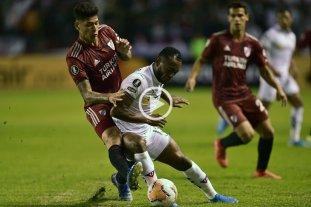 Copa Libertadores: River perdió ante Liga en Quito