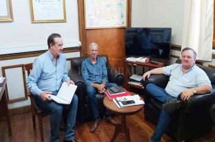 Michlig y Marcón recibieron al Presidente del Foro de Intendentes Radicales