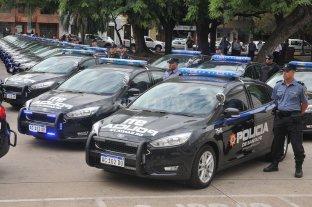 Otro choque por patrulleros y efectivos