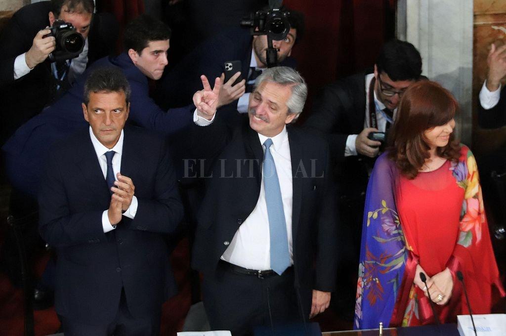 En el discurso ante la Asamblea Legislativa, Alberto Fernández habló de todo, menos del camino económico que habremos de recorrer para salir del pozo. Crédito: Archivo El Litoral