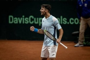 Copa Davis: Londero venció a Giraldo e igualó la serie entre Argentina y Colombia