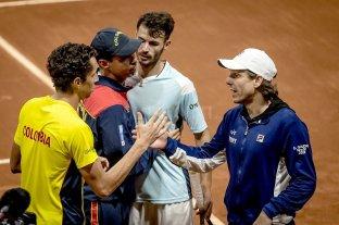 Copa Davis: Argentina fue eliminada por Colombia