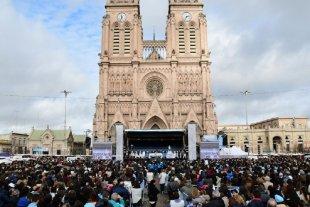 La iglesia realiza una misa en Luján para ratificar su rechazo al aborto