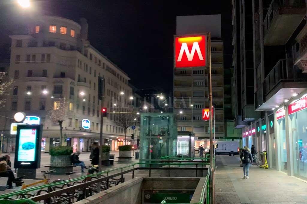 Poco movimiento en Milán Crédito: El Litoral