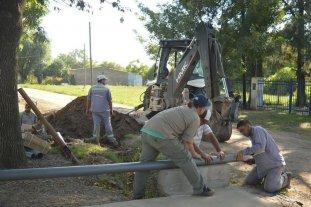 Mejoran el servicio de agua potable en Adelina Oeste