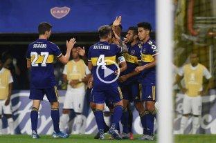 Boca derrotó 3 a 0 a Independiente Medellín por Copa Libertadores