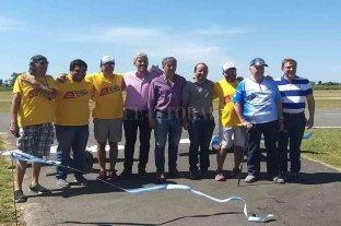 Borla visitó localidades del norte del departamento San Justo