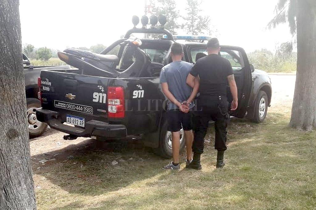 El sujeto fue detenido en Frontera. Su madre está internada en el hospital Cullen en estado delicado. Crédito: Gentileza