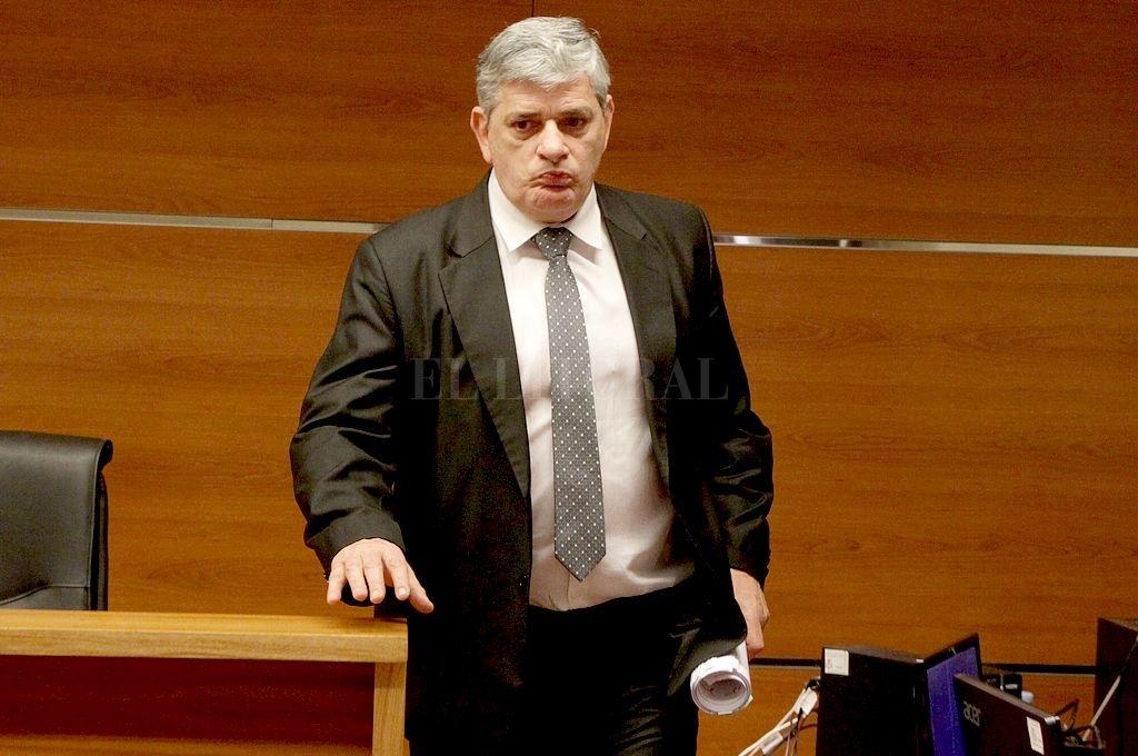 Juez Jorge Patrizi. Crédito: Archivo El Litoral / Guillermo Di Salvatore