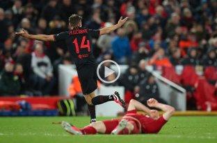 Atlético Madrid eliminó a Liverpool y clasificó a los cuartos de la Champions League