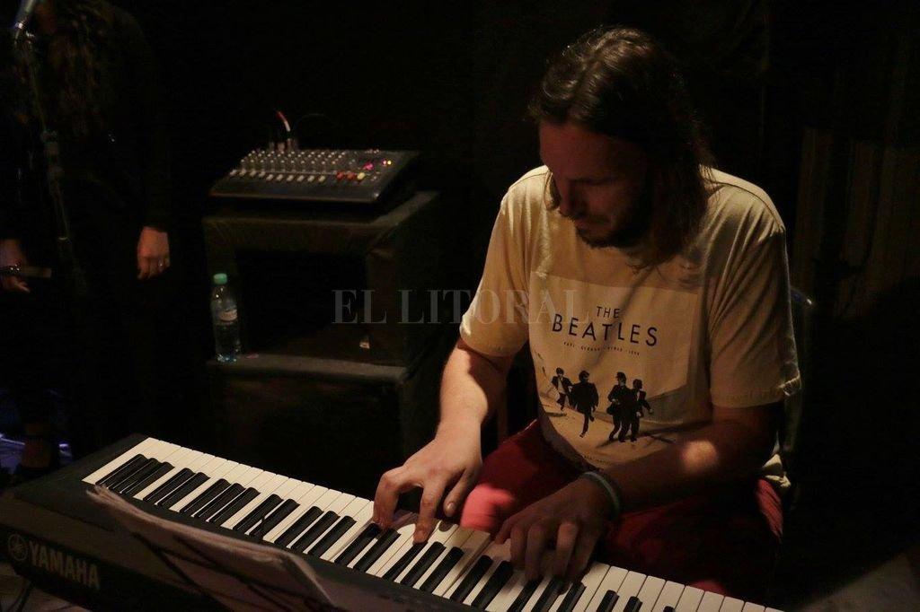 Fabián Rosa en piano (foto), Guido Chiatti en bajo y Bruno Galloni en batería integran Campus Trío Crédito:  Gentileza Municipalidad
