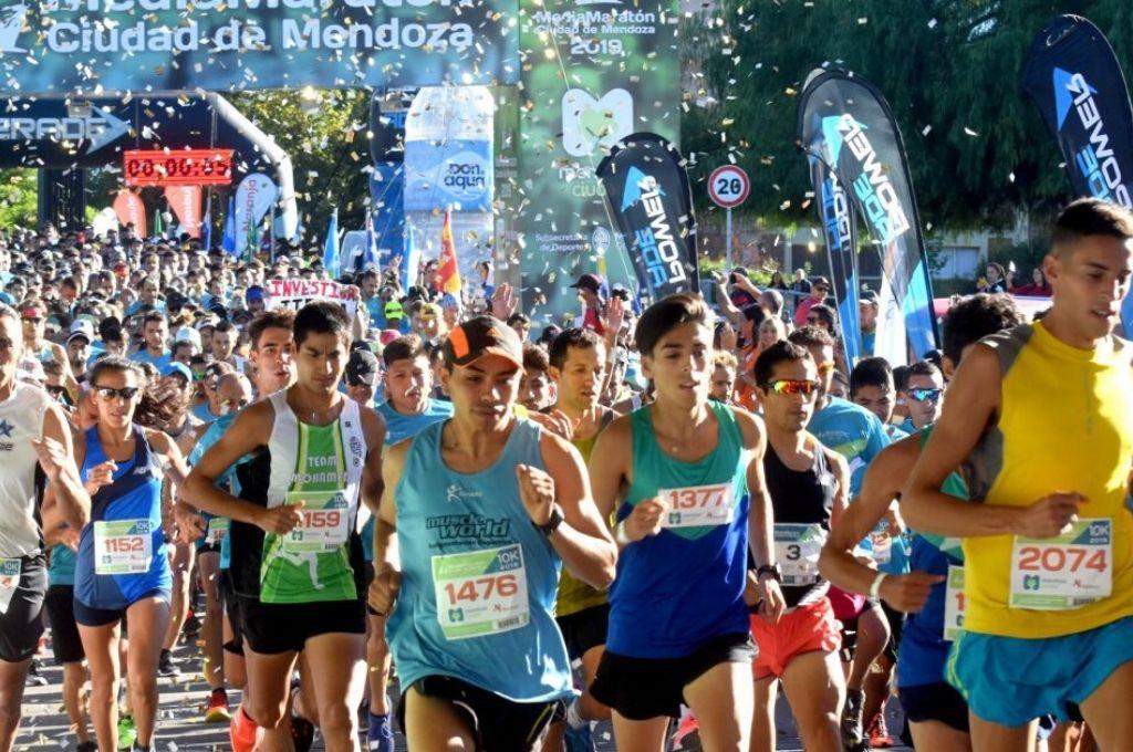 La Media Maratón de la Ciudad fue suspendida.   Crédito: Gentileza